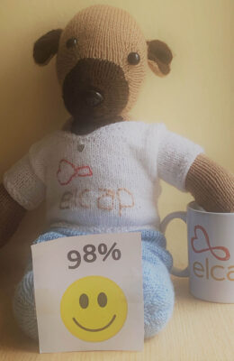 98% agree ELCAP provides high quality care and support (Mar 21)